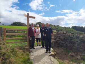opening of new Lady Chapel route