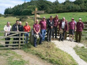 opening of Lady Chapel route