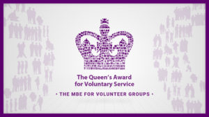 \The Queen's Award for Voluntary Service. The MBE for Volunteer Groups